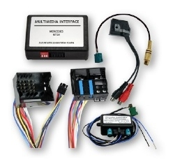Adapter do podłączenia kamery z TV FREE w czasie jazdy Mercedes NTG4