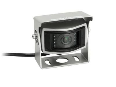 Uniwersalna kamera cofania z linami pomocniczymi dla samochodów dostawczych srebrna