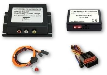 Interfejs Audio Wideo, DVD, DVB-T Land Rover Touchscreen Navigation (2 Generation)