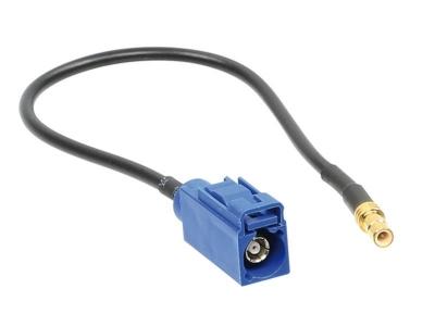 Adapter gps; wtyk SMB C-gniazdo proste fakra; 0,15m