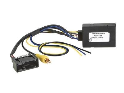 Adapter do uruchomienia tylnej fabrycznej kamery cofania SKODA, VW RNS510,RNS315,Columbus,RCD510