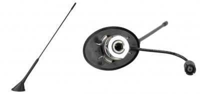 Antena dachowa Calearo tył VW Passat Golf Seat Leon Skoda Fabia -- RAKU2 ze wzmacniaczem