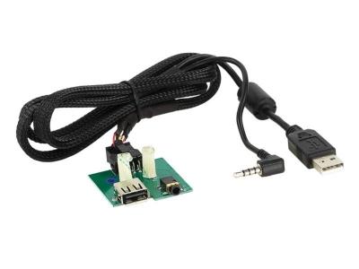 AUX/USB zamiennik Kia Carens 2010->, Venga <-2010