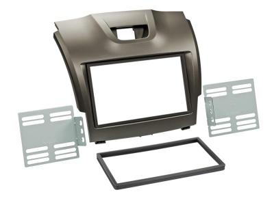 Ramka 2 DIN Isuzu D-MAX 2012-> szara