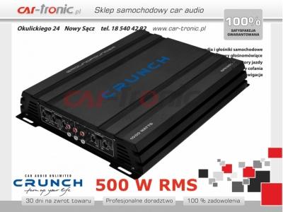 Crunch GPX-1000.4 4-kanałowy 4x125W RMS
