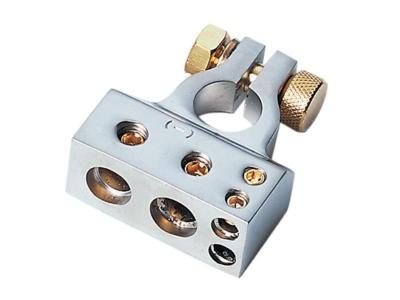 Klema akumulatora ACV 1 x 35 mm² + 1 x 20 mm² + 2 x 10 mm minus srebrna