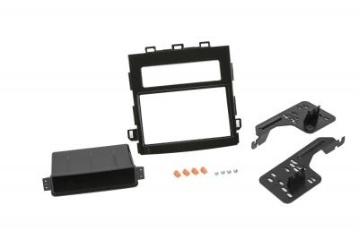 Ramka radiowa 2 DIN  Subaru XV, Impreza 2018->  czarna połysk