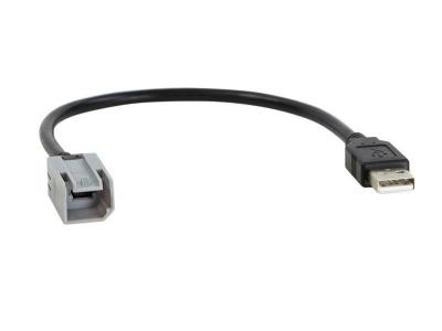 Adapter USB zachowuje fabryczny port USB Fiat Ducato, 500L 2014->