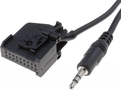 AUX Line IN adapter VW, Audi MFD2.18pin - Jack 3,5mm 1m