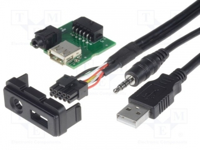 Adapter USB/AUX-IN PCB, Mazda 2012->