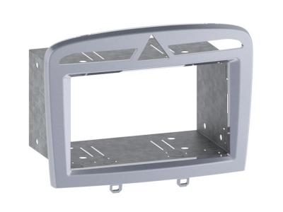 Ramka radiowa 2 DIN Peugeot 308; 308CC; RCZ srebrny