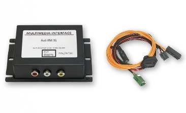 Interfejs Audio Wideo, DVD, DVB-T Audi - MMI HIGH 3G / 3G+, VW RNS 810