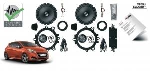 Głośniki dedykowane do samochodów Peugeot