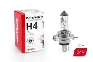 Żarówka halogenowa H4 24V