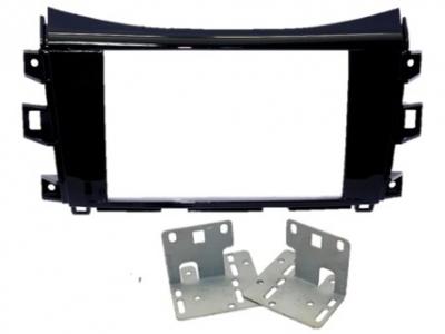 Zestaw montażowy 2DIN Nissan Navara bez fabrycznej kamery dla Alpine X800D-U/X801D-U