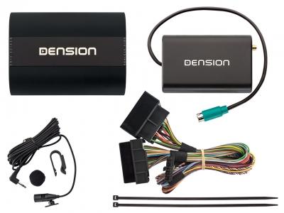Dension Pro BT,AUX,USB,iPhone,ID3,DAB+ - Audi A4,A3,TT