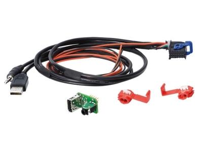 AUX/USB Zamiennik Fiat, Aston Martin, Lancia 2014- > system Blue and Me