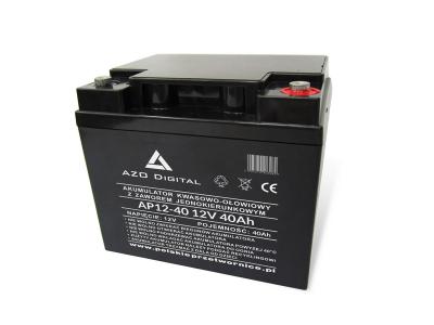 Akumulator VRLA AGM bezobsługowy AP12-40 12V 40Ah