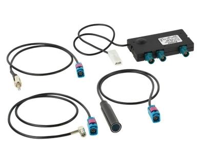 Aktywna antena splitter radiowy AM / FM / DAB DAB + zaw. Adapter