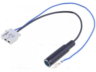 Gniazdo antenowe do radia fabrycznego Honda Accord 2008-> DIN