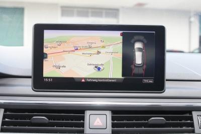 Kompletny zestaw APS + plus (wyświetlacz wizualny) przód i tył dla Audi A4 8W