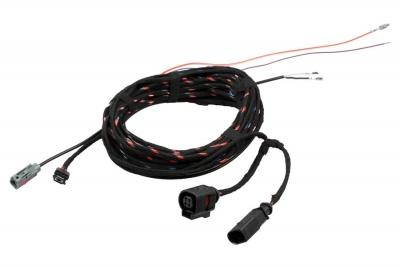 Zestaw kabli do kamery cofania dla VW Golf 7 VII