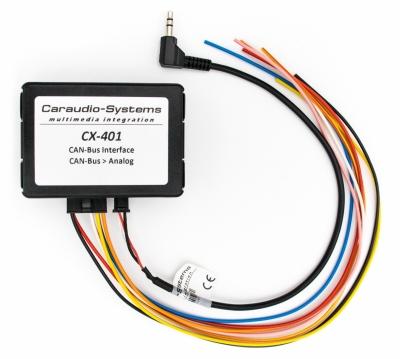 Adapter CAN BUS uniwersalny do sterowania z kierownicy.  CX-401