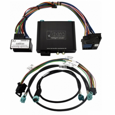 Interfejs dla kamery MERCEDES Audio20 i Comand Online NTG5 / NTG5.1 Plug & Play
