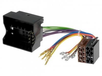 Złącze uniwersalne ISO (obudowa Quadlock) do montażu nie fabrycznego radia samochodowego