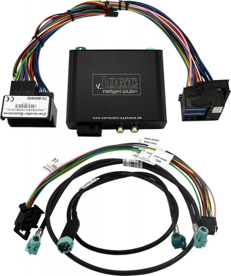 Interfejs do kamery cofania przód/tył BMW CIC 4-Pin LVDS