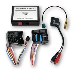 Adapter do podłączenia Wideo z TV  FREE w czasie jazdy Mercedes NTG4