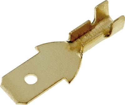 Konektor płaski męski nieizolowany 4,7mm (0,3-1mm2)