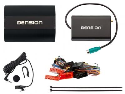 Dension Pro BT,AUX,USB,iPhone,ID3,DAB+ - Audi A4,A3,A6,A8,TT