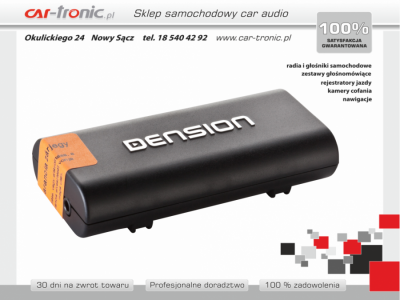 Adapter Dension Bluetooth - Suzuki Swift, Vitara, Splash, SX4