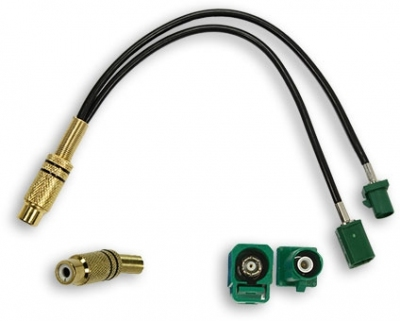 Adapter Fakra-Chinch Mercedes,Audi monitor
