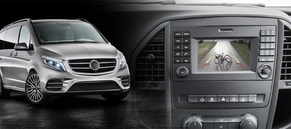 Interfejs kamery przedniej i tylnej Mercedesa Vito W447 z Audio 15