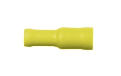 Gniazdo okrągłe żółte 4,0-6,0 mm²
