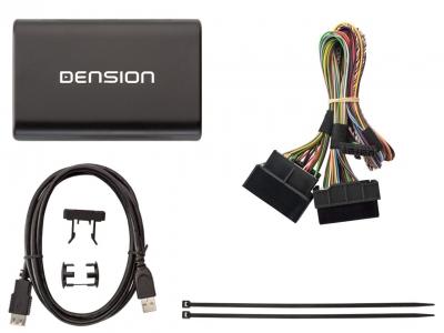 Cyfrowa zmieniarka Dension USB,iPod,iPhone,AUX,ID - Audi RNS-E