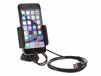 Uchwyt Dension CAR DOCK iPhone 5,5S,6,7- transmiter,AUX,ładowanie