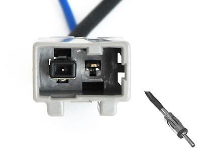 Adapter antenowy Honda,Suzuki,Mazda > GT13 > DIN (m)
