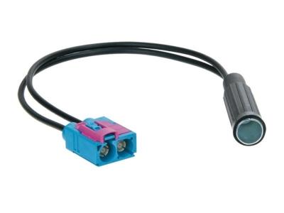 Adapter antenowy DIN gniazdo, Fakra gniazdo x2