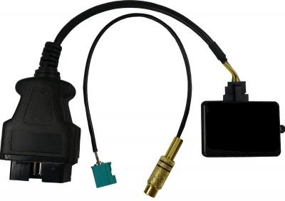 Adapter do podłączenia i aktywowania kamery cofania Mercedes NTG4/4.5