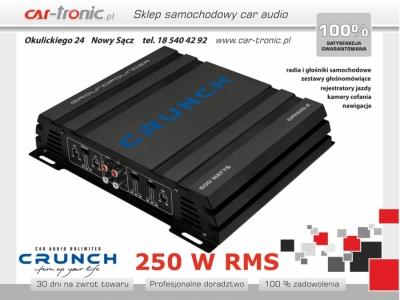 Crunch GPX-500.2 2-kanałowy 2x125W RMS