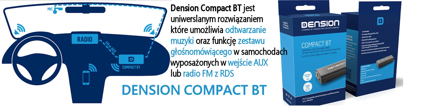 DENSION COMPACT BT