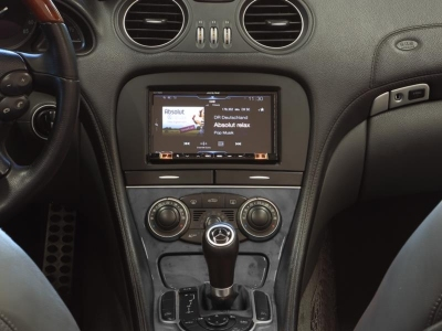 Ramka radiowa 2 DIN Mercedes SL-Class (R230) po liftingu  11/2005 - 11/2011