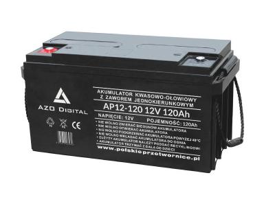 Akumulator VRLA AGM bezobsługowy AP12-120 12V 120Ah