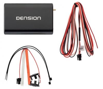 Dension DAB+M Odbiornik DAB Bluetooth sterowany smartfonem