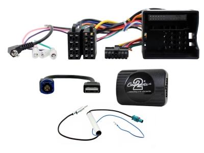 Adapter do sterowania z kierownicy Peugeot Expert-KO, Expert-Traveller-KO 2016-> CTSPG020.2 Bez czujników i fabrycznego radia.