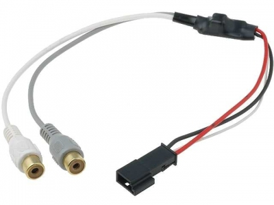 Interfejs Aux-IN do BMW 2x RCA wtyk- 3pin