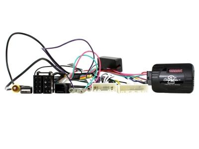 Adapter do sterowania z kierownicy Nissan Navara, Frontier 2015->  CTSNS014.2 Fabryczna kamera cofania.